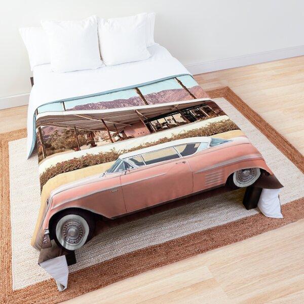 palm springs car Comforter