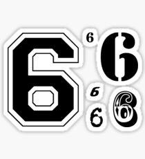 Six in Multiples Sticker