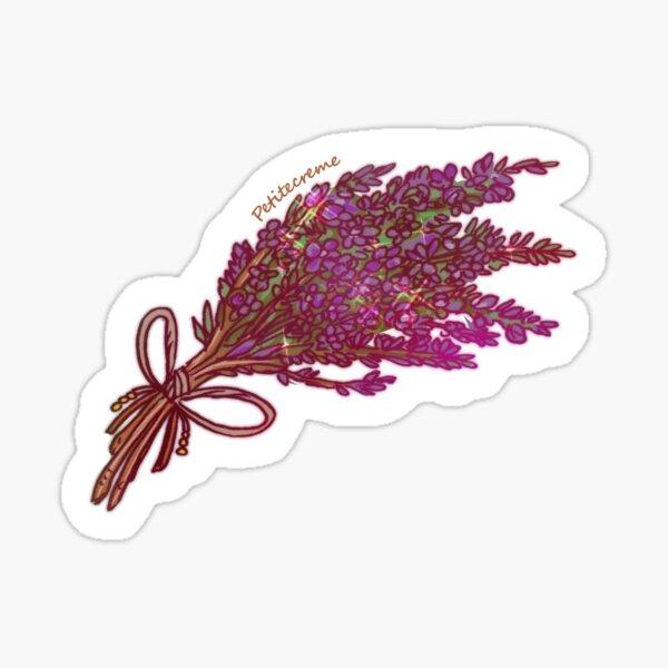 Dried Heather Sticker