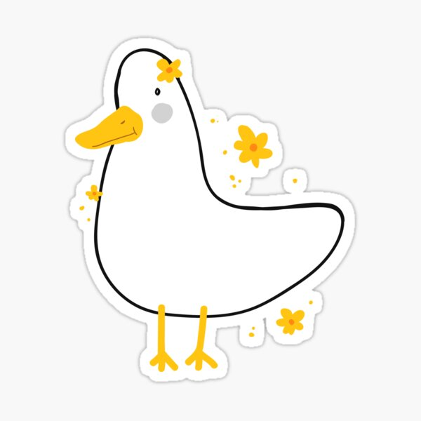 hi, call me florid duckky Sticker
