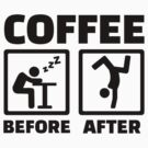 Coffee before after by Designzz