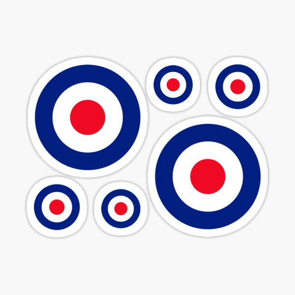 Classic Roundel Target Graphic Sticker