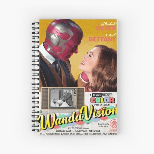 Meilleure couverture Wandavission Cahier à spirale