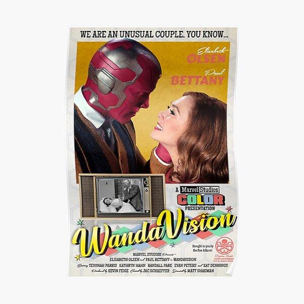 Meilleure couverture Wandavission Poster