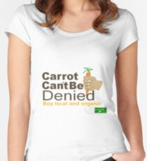 Carrot Fitted Scoop T-Shirt