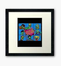 The Brainy Munch Framed Print