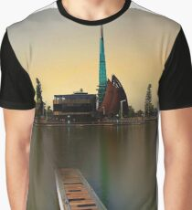 Swan Bell Tower - Perth Western Australia Graphic T-Shirt
