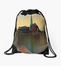 Swan Bell Tower - Perth Western Australia Drawstring Bag