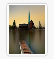 Swan Bell Tower - Perth Western Australia Sticker