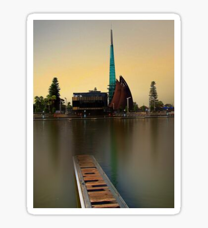 Swan Bell Tower - Perth Western Australia Sticker