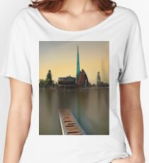 Swan Bell Tower - Perth Western Australia Women's Relaxed Fit T-Shirt