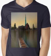 Swan Bell Tower - Perth Western Australia Mens V-Neck T-Shirt