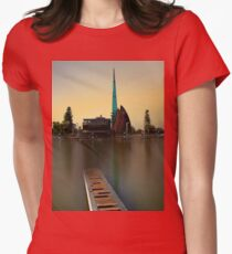 Swan Bell Tower - Perth Western Australia Women's Fitted T-Shirt