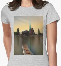 Swan Bell Tower - Perth Western Australia Womens Fitted T-Shirt