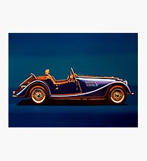 Morgan Roadster Painting Photographic Print