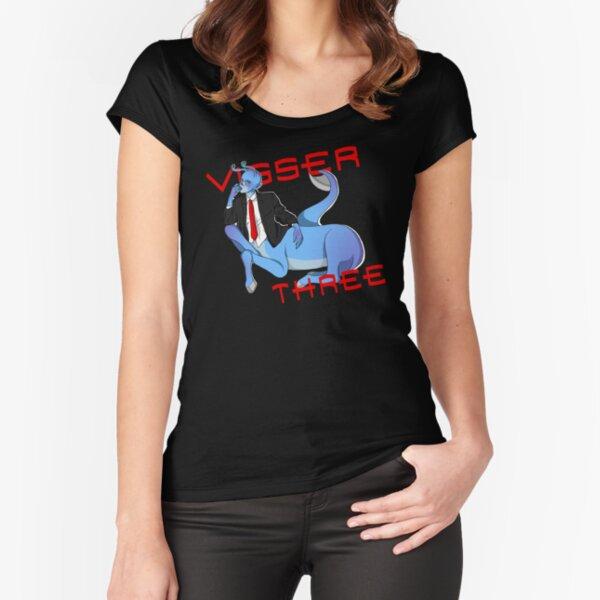 Visser Three Fitted Scoop T-Shirt
