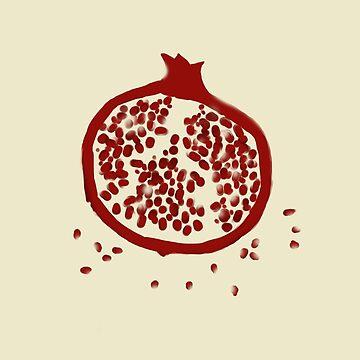 Pomegranate by annnaalove
