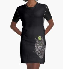 Banksy cat Graphic T-Shirt Dress