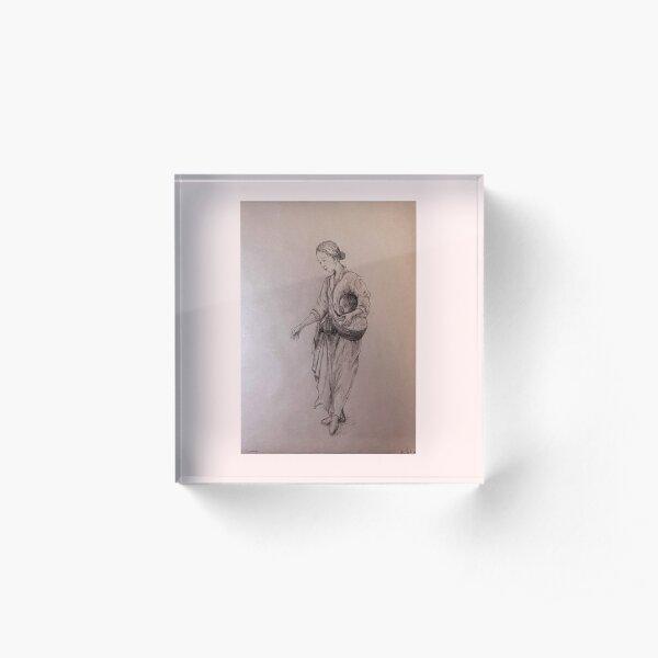 Eumoni - Mother Traditional Print Acrylic Block
