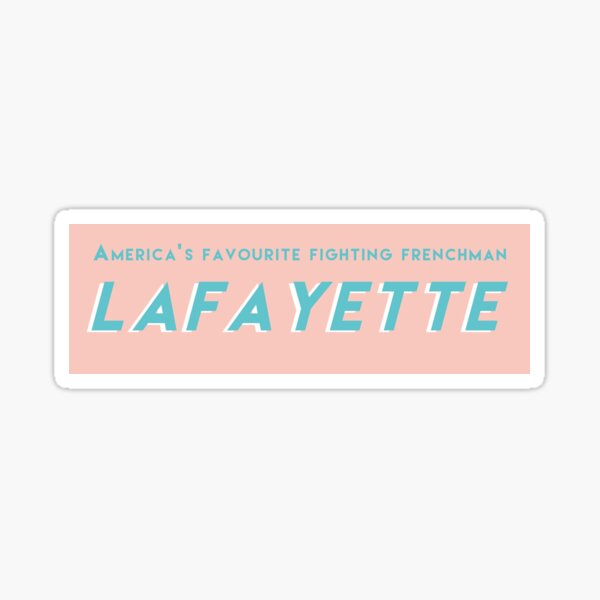 Lafyette Sticker