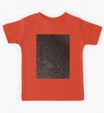 Black Marble texture Kids Tee