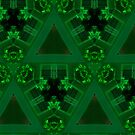 Geometric Green by Marie Sharp