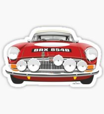 1964 work MG MGB Sticker