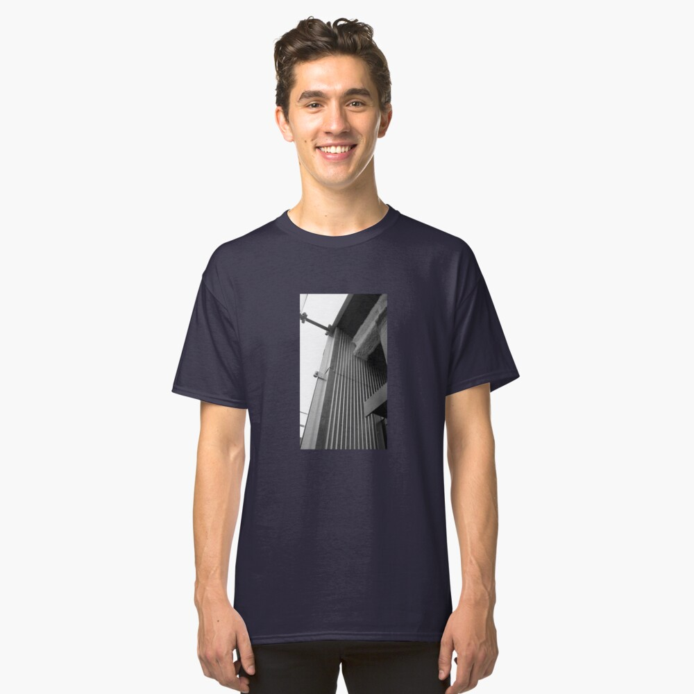 Cement, Glass, and Metal Classic T-Shirt Front