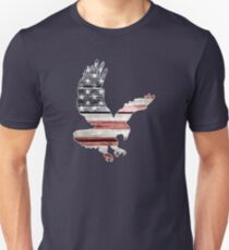 American Flag, Patriotic Eagle Unisex T-Shirt