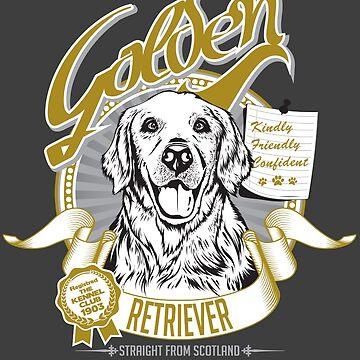 Golden Retriever by yetiwksp