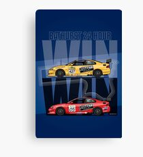 Win Win! – Holden Monaro CV8 427C Bathurst 24 Hours Winners 2002/2003 Canvas Print