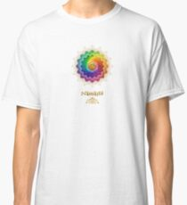 Rainbow Lotus Om Namasté Classic T-Shirt