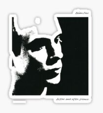 Brian Eno- Before and After Science Sticker