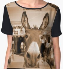 Route 66 - Oatman Donkeys Chiffon Top