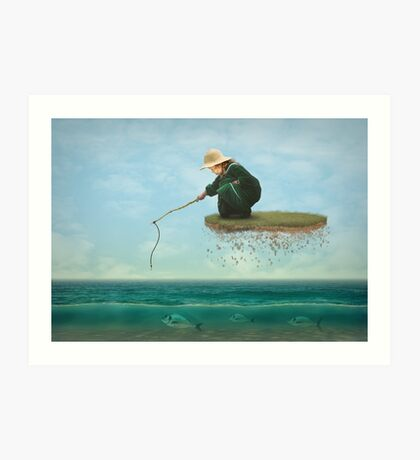 A Dream Catch Art Print
