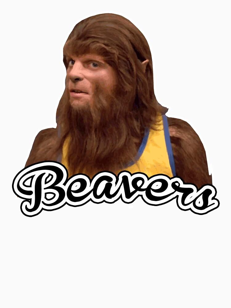 Beavers Teen Wolf 80s T-shirt