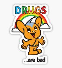 Pipo-Kun - Drugs Are Bad Sticker