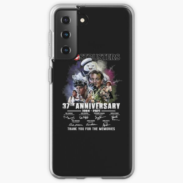 Ghostbuster 37th anniversary thank you for the memories unisex shirt Samsung Galaxy Soft Case