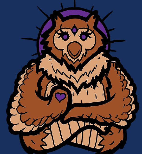 Spirit Owl by Jonah Block