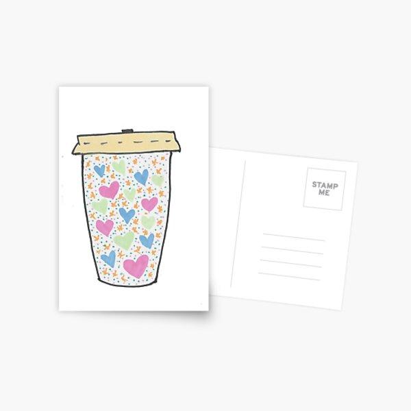 Cute Coffee Postcard