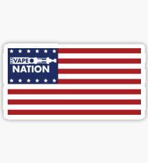 Vape Nation - Born in the U.S.A. Sticker