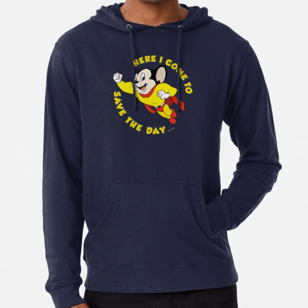 Mighty Mouse, here i come to save the day Lightweight Hoodie
