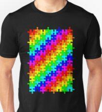 Jigsaw rainbow T-Shirt