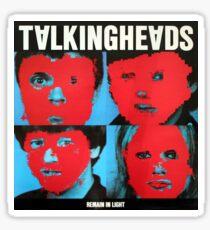 Talking Heads - Bleiben Sie im Licht Sticker