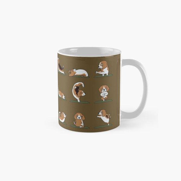 Beagle Yoga Classic Mug