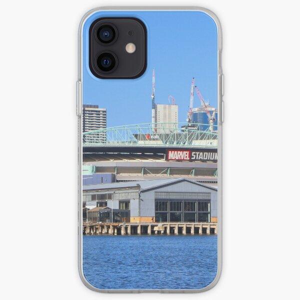 Docklands Harbour, Melbourne, Victoria, Australia iPhone Soft Case