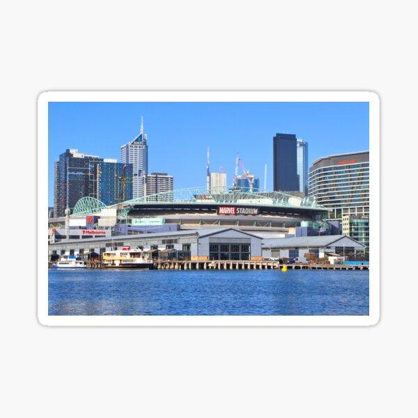 Docklands Harbour, Melbourne, Victoria, Australia Sticker