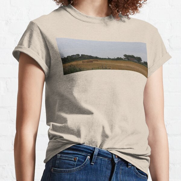 Late Summer Harvest Time on Pellworm Island Classic T-Shirt