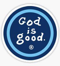Pegatina Dios es bueno (la vida es buena)