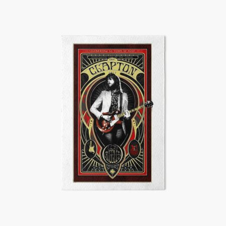 eric clapton 02 Art Board Print